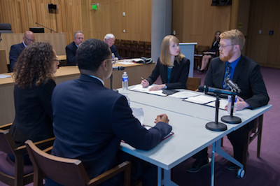6th Annual Bond Schoeneck & King ADR Competition 2017 Moot Court Alternative Dispute Resolution Final