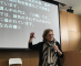 Professor Arlene Kanter lectures at Japan's Sophia University in April 2018.