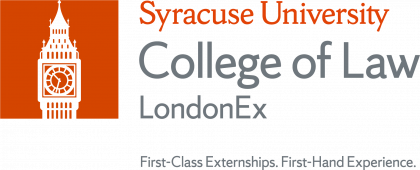 Syracuse University College of Law LondonEx Wordmark