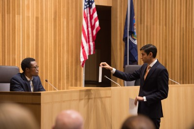 The College of Law hosts five intercollegiate competitions each year