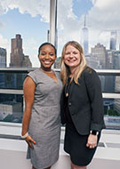 NYCEx student with Director of Externships Kim Wolf Price