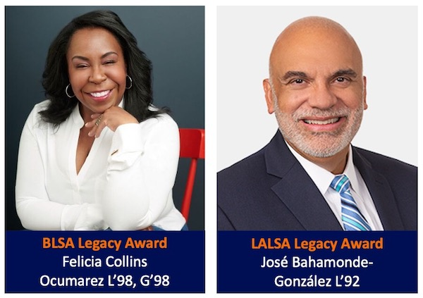 2020 Alumni of Color Awards Recipients