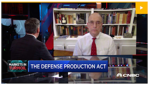 Judge Baker appears on CNBC.