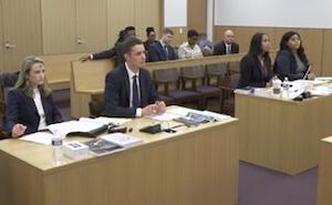 Mock trial of People v. Mitchell.