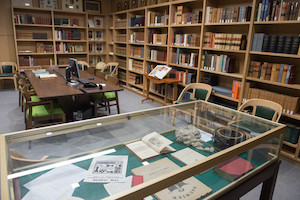 The Peter Herzog L'55 and Brigitte Herzog L'75 Special Collections Room.