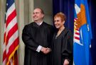 Rusher sworn in as Immigration Judge
