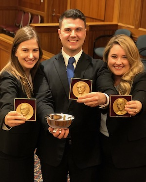 2019 National Moot Court Competition team.