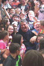 Tim Green at Central Square School District, New York.