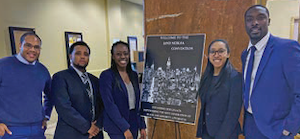 Constance Baker Motley Mock Trial Competition team, 2020.