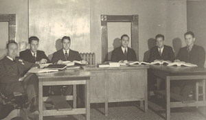 1938 Moot Court Team
