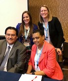 Samantha Kasmarek and panel members at NALP 2019 in Sand Diego, CA.