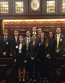 United States Court of Federal Claims Judge Delivers Seminar on Federal Courts to DC Externs