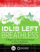 Idlib Left Breathless cover