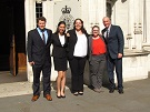 Dean Boise and Law in London Externship visits the Supreme Court of the UK