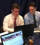 Students at the 2018 National Security Crisis Law Simulation