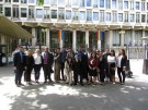 Students in the Law in London program at the US Embassy in the UK.