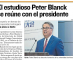 Ecuadorian press coverage of the meeting.