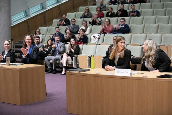 Inaugural Entertainment and Sports Law Negotiation Competition (2019)